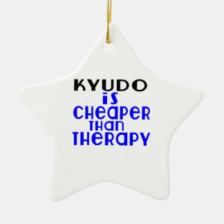 Kyudo Is Cheaper  Than Therapy Ceramic Star Decoration