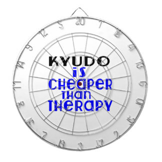 Kyudo Is Cheaper  Than Therapy Dart Board