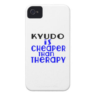 Kyudo Is Cheaper  Than Therapy iPhone 4 Cases