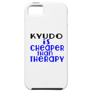 Kyudo Is Cheaper  Than Therapy iPhone 5 Cover