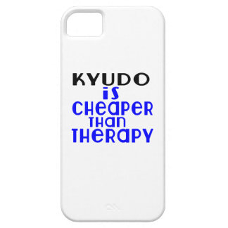 Kyudo Is Cheaper  Than Therapy iPhone 5 Covers