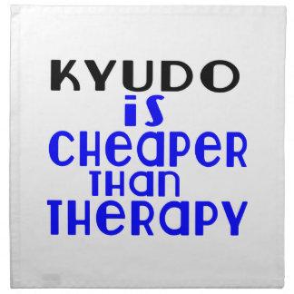 Kyudo Is Cheaper  Than Therapy Napkin