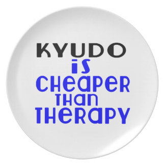 Kyudo Is Cheaper  Than Therapy Plate