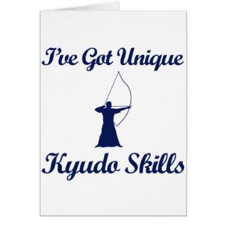 kyudo martial art designs card