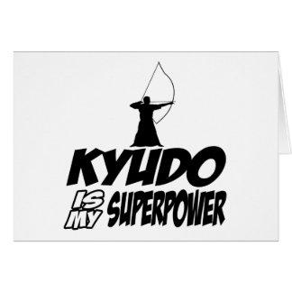 Kyudo Superpower Designs Card