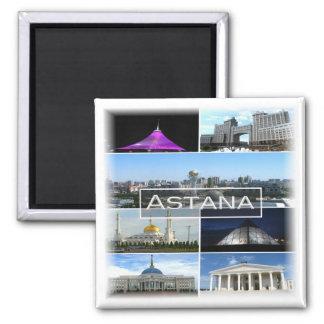 KZ * Kazakhstan - Astana - Mosaic Square Magnet