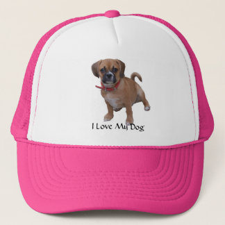 l1, I Love My Dog Trucker Hat