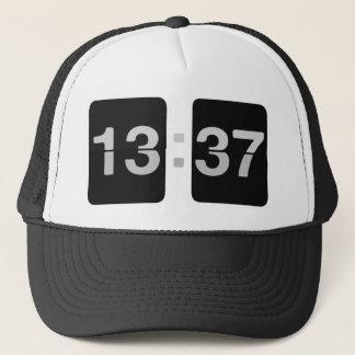 L33T Clock 13:37 Trucker Hat