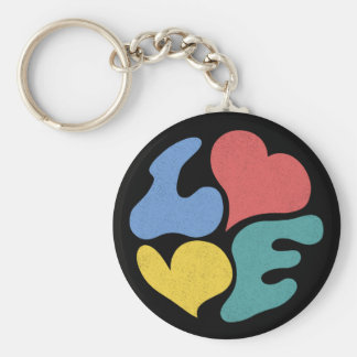 L 3VE KEYCHAINS