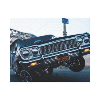 L.A Low Rider Canvas Print