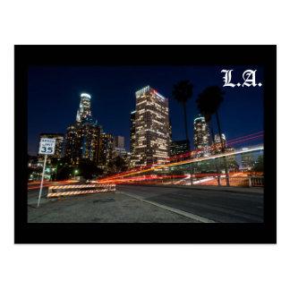 L.A. speed Postcard