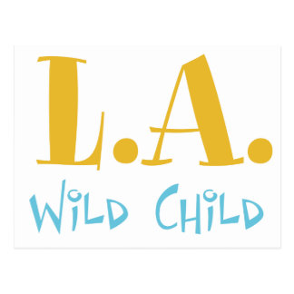L A Wild Child Post Cards