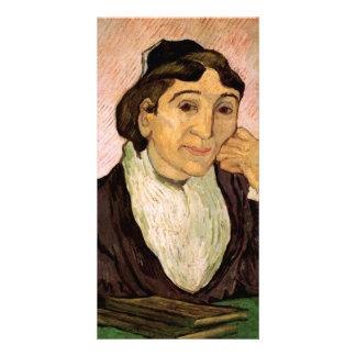 L Arlesienne Madame Ginoux by Vincent van Gogh Personalised Photo Card