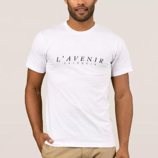 """L""""AVENIR Men's White Tee"""