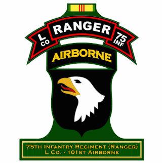 L Co, 75th Infantry Regiment - Ranger, Vietnam Standing Photo Sculpture