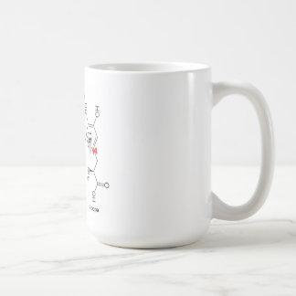 l-dopa and dopamine coffee mug