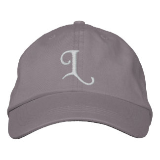 L EMBROIDERED HAT