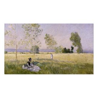 L'Ete' (The Summer) - Claude Monet Business Card Templates