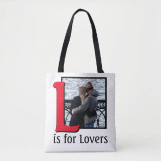 L for Lovers Tote Bag