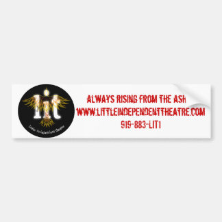 l.i.t logo bumper sticker
