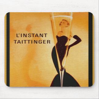 L Instant Taittinger Mousepad