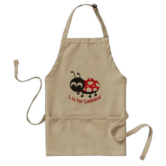 L is for Ladybug Apron