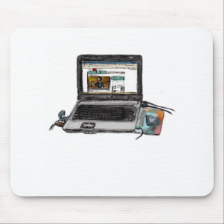 L is for Laptop Mouse Pad