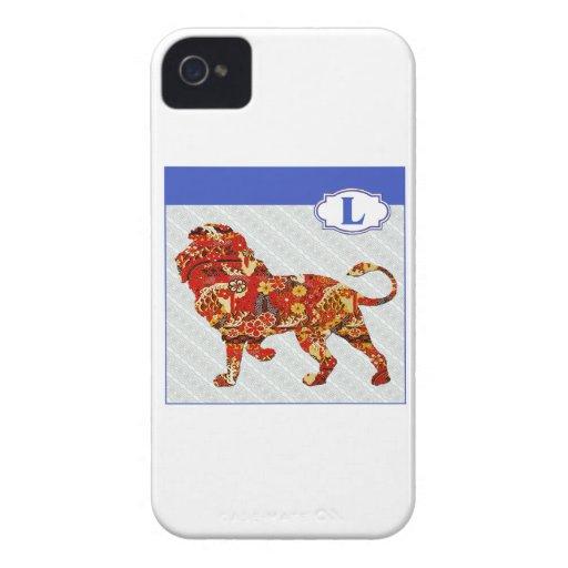 L is for Lion Case-Mate Blackberry Case