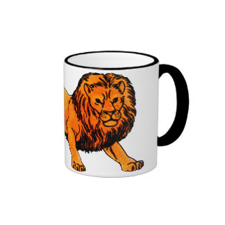 'L' is for Lion Mugs