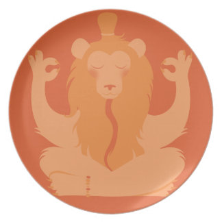 L is for Lion Party Plates