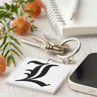 L letter Keychain