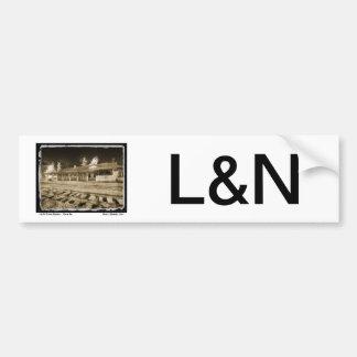 L&N Passenger Depot Bumper Sticker