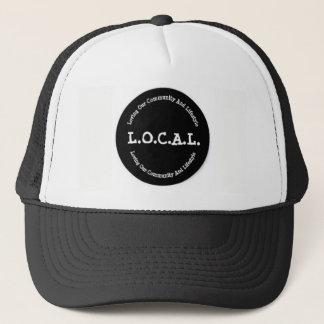 L.O.C.A.L Black and White Trucker Hat