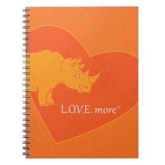 L.O.V.E. More Journal Spiral Notebooks