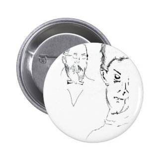L Obachevsky Reimann Pinback Buttons