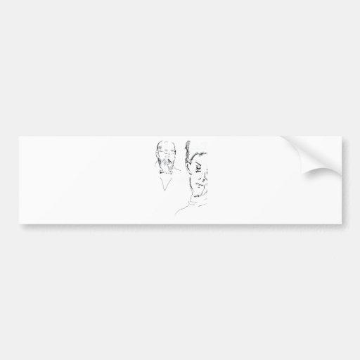 L Obachevsky Reimann Bumper Stickers