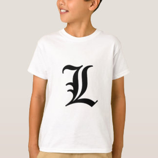 L-text Old English Shirts
