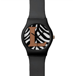 L-Zebra Fashion Watch