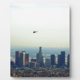 LA and helo Plaque