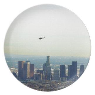 LA and helo Plate