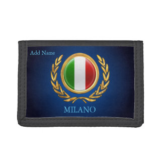La Bandiera - Personalized Italian Flag Tri-fold Wallets