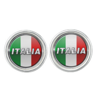 La Bandiera - The Italian Flag Cufflinks
