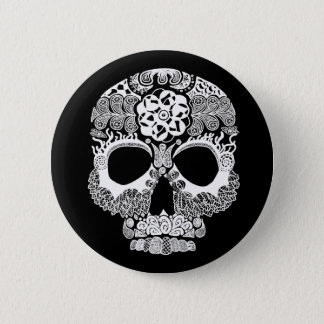 La Bella Muerte Dark Button