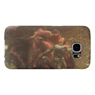 La Belle Dame sans Merci by Sir Frank Dicksee Samsung Galaxy S6 Cases