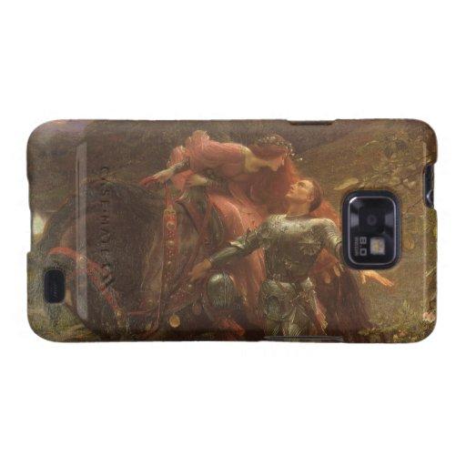 La Belle Dame sans Merci, Dicksee, Victorian Art Samsung Galaxy S2 Cover