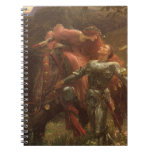 La Belle Dame sans Merci, Dicksee, Victorian Art Note Books