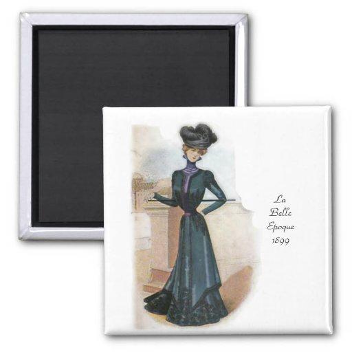 La Belle Epoque 1899 Fridge Magnet