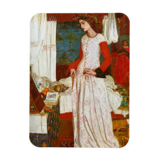 La Belle Iseult   Queen Guenevere, William Morris Magnet