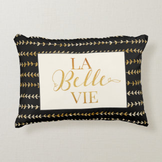 La Belle Vie Pillow - Golden
