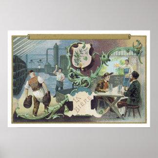 La Biere Poster